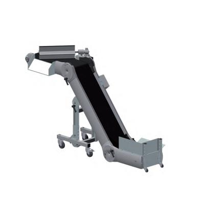 Convoyeur tapis avec s parateur articul haut et bas equip industry machines quipements - Tapis alimentation ovin occasion ...