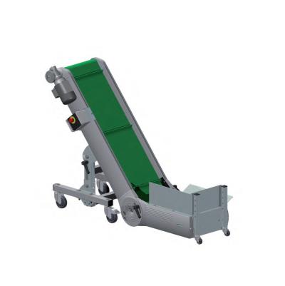 Convoyeur tapis articule flexible bas equip industry machines quipements p riph riques - Tapis alimentation ovin occasion ...