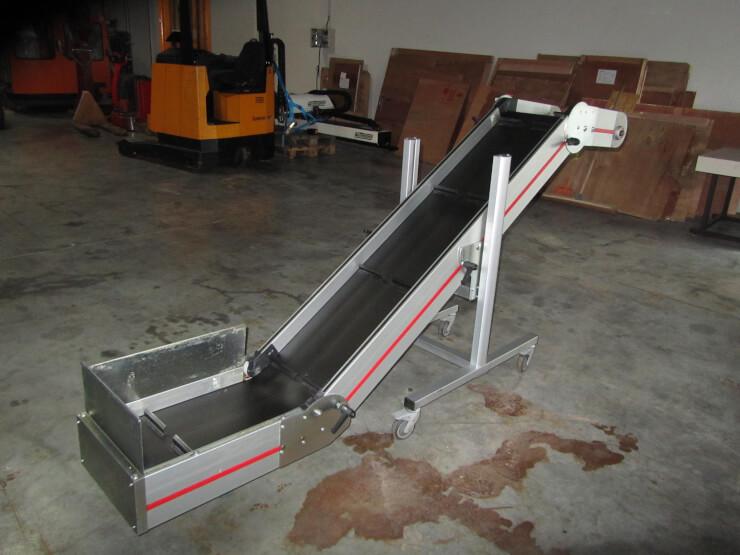 Convoyeurs Incline Flexible Haut Et Bas Ndz5 Equip Industry Machines Quipements